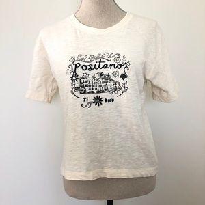 Madewell Positano short sleeve T-shirt XSmall